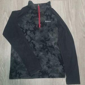 EUC Boys XL 18/20 Columbia 1/4 Zip Fleece